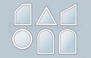 Fenster Design Sonderformen