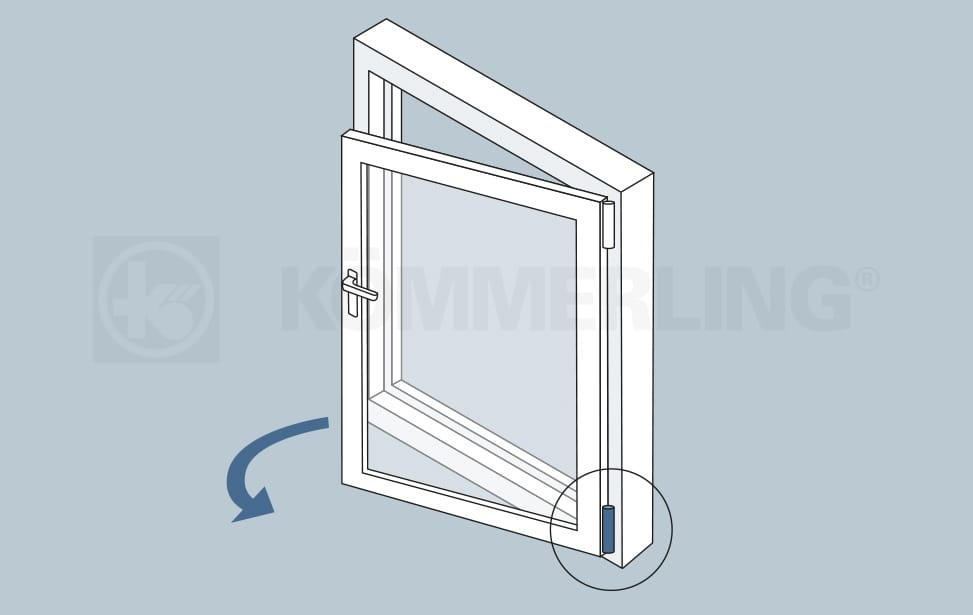 Flügelbremse Fenster Komfort