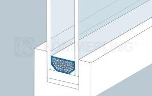 Wärme Kante Mehrfachverglasung Wärmeschutz