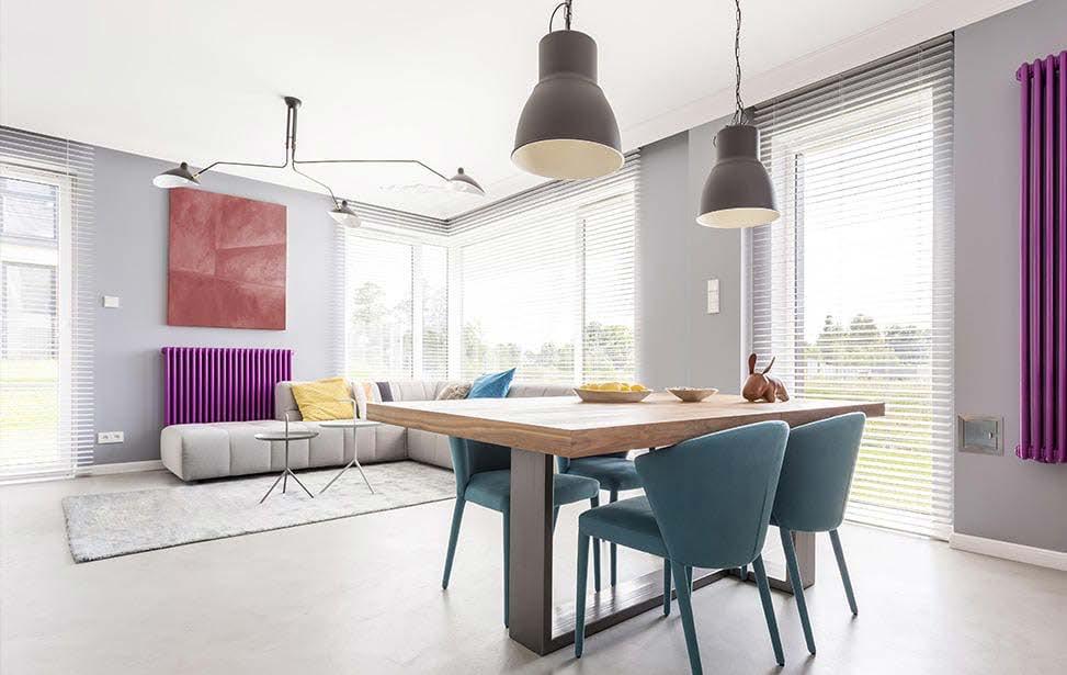 Bodentiefefenster Neubau Wohnzimmer
