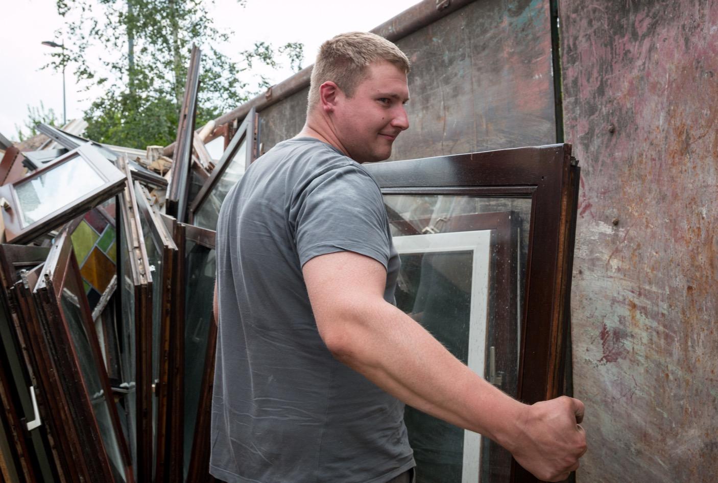 Entsorgung alte Fenster Jechener