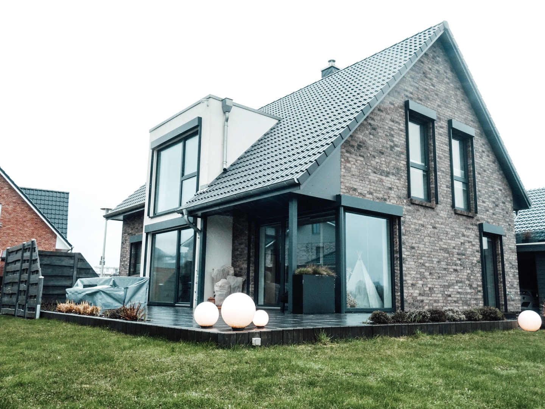 Neubau Eckfenster Varianten Fenster