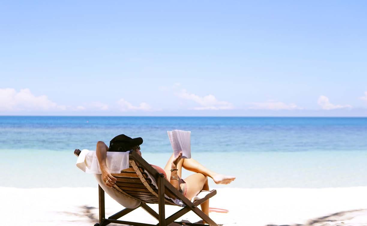 Urlaubszeit Meer Entspannung